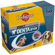 Snack per Cane Medio Alito DentaStix 28 Pezzi PEDIGREE