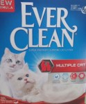 Lettiera Gatto Ever Clean Multiple Cat 10 Litri