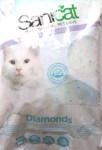 Lettiera Gatto Sanicat Professional Diamonds 15 l SILICIO IN ARR