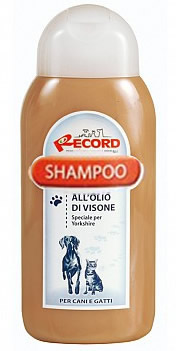 Shampoo RECORD all'Olio di Visone Ml250 Cane Speciale Yorkshire