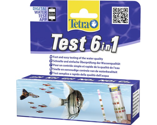 Tetra Test 6 in 1 con Test Acquario + Cl2 CLORO